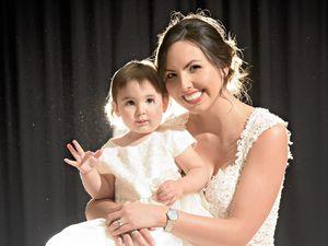 Danielle's dream dress dazzles at bridal fair