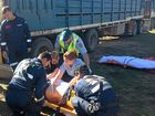 Man crushed by cattle loading truck