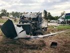 POLICE have advised the Cunningham Hwy has been reopened at the scene of an earlier two-vehicle crash.