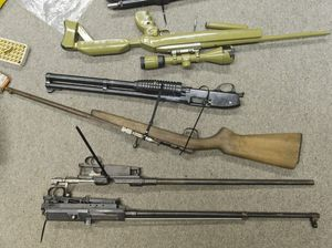 Guns, drugs found hidden on rural property
