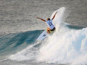 Sunshine Coast's best surfers toppled in California