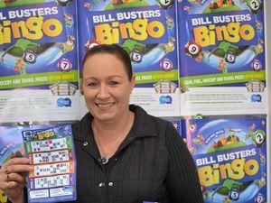 BINGO: Tania Whitton is a winner with Daily News Bingo