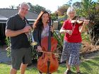 FOR the Egan family, a love of playing music with the Coffs Harbour City Orchestra is a family affair.