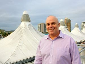 Reed Property Group managing director Ken Reed on site at the Big Top shopping centre in Maroochydore.