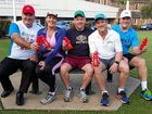 COUNCILLORS are limbered up and ready for this year's Cane2Coral fun run and walk to be held on Sunday, 7 August.