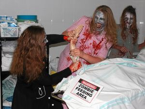 The 2016 CQUniversity Village Festival will this year feature its first ever 'Zombie Shuffle', a spectacle that will see hundreds of zombie participants stumble down the main street of Yeppoon and Anzac Parade in search of fun and braaains!