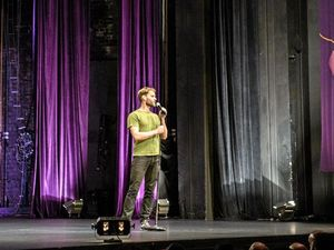 Luke Heggie is appearing at the Ipswich Civic Centre as part of the 2016 Sydney Comedy Festival Showcase.
