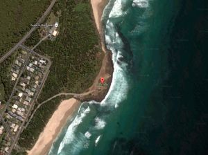 Two-metre shark 'jumped out of the water' at Shelly Beach