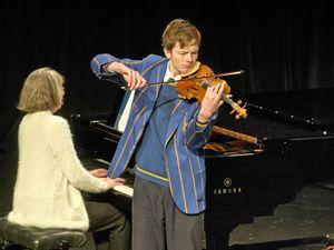 Practice brings success for Harry Egerton