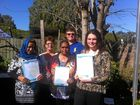 TWELVE local job seekers have earned a nationally-recognised qualification through a Sandgate training project.