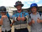 Central Queensland entrepreneur invents peck-proof helmet