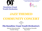"""The Sunshine Coast Youth Orchestra will be presenting a """"Jazz Themed Community Concert"""" at Lifepointe Baptist Church from 5pm on Saturday August 27, 2016"""