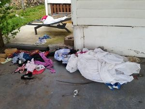 Tenants trash Bundy home