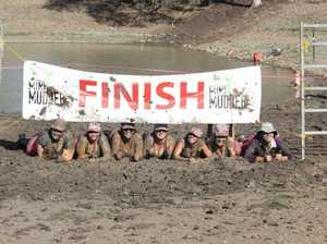 Contestants at last year's Mini Mudder event. Photo: Contributed.
