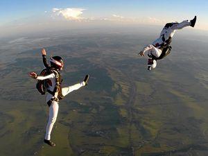 Toogoolawah Skydiving duo to take on world