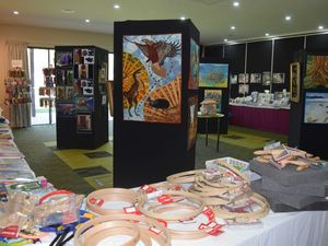Artists show off creativity at convention