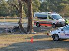 Woman dies in New England Highway crash