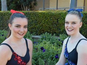 Jamie Marquis (left) and Claire Laffey claimed first prize for their contemporary duo performance at this year's Eisteddfod.