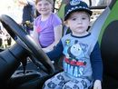 Emergency Services Day, Kaiden and Mackenzie Wright.Photo Allan Reinikka / The Morning Bulletin