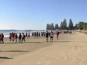 Coast 2 Course walk takes scenic route