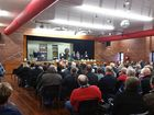 More than 250 people crowded into Kianga Hall earlier this month to commemorate the 30th anniversary of the explosion at the Moura No. 4 mine.