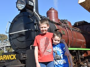 Luke Young tells of his amazing steam train experience