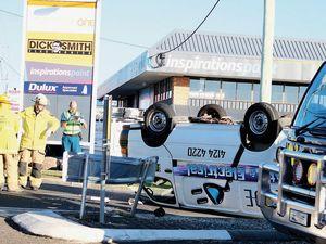 Two vehicle crash in Hervey Bay