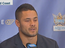 Jarryd Hayne signs with Titans