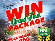 Win a NRL Grand Final Package worth $2,700