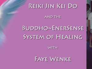 What is Reiki Jin Kei Do?  Come along and meet Faye, learn about this particular type of Reiki and receive a free short treatment.