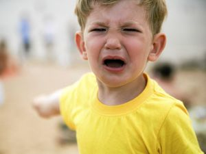 Little boy tantrum. Kid screaming. Thinkstock.