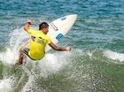 ANGOURIE surfer Jeames Young has helped keep Australia's chances of a World Surfing Games medal alive by carving a path through the repechage rounds.