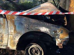 Car gutted in Enterprise Rd crash