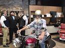 Dapper motorbike cruise