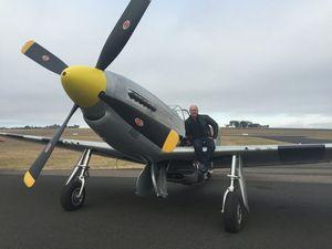 Meet the man behind the warplanes at Brisbane Valley Airshow