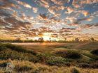Sunrise over Redbank Plains.