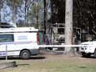Detectives and forensic officers are unravelling the circumstances surrounding a suspicious fire at a caravan park in the Lockyer Valley region on Friday morning.