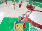 Serbia's Red Wall has turned Australia's Olympic golden dream in Rio into a living 87-61 nightmare.
