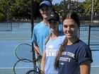This week Grafton City Tennis Club players Jake Sullivan, Brittany Huxley and Taylah Beckman will return for another year on the US College Tennis circuit.Photo Bill North / Daily Examiner