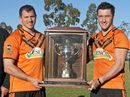 SOUTHS have claimed the Madsen-Rasmussen Trophy in a high-scoring last round TRL match against Pittsworth.