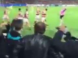 Woman threw a banana at Indigenous AFL player