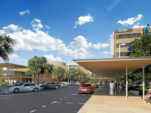 Sunshine Coast University Hospital west view.