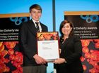 The former Begonia State School student was one of 30 students across the state to receive the Peter Doherty Award for Excellence in STEM Education.