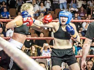 Ipswich's own Jillaroo hops into the boxing ring