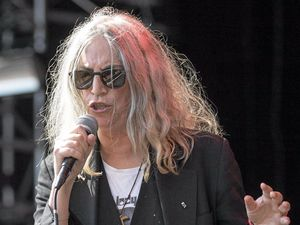 CONFIRMED: US singer Patti Smith performing in Switzerland last year.