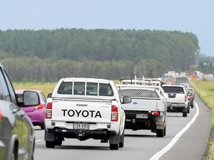 Traffic chaos on the Bruce Highway will worsen with major roadworks.