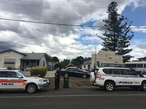 Police have declared a crime scene at a propoerty in Mundubbera.