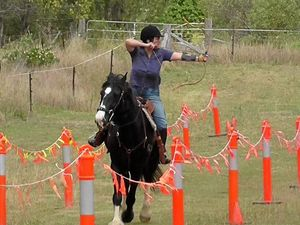 Horse archery challenge grows in popularity