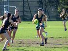 Tweed River High's boys and girls' touch sides in action