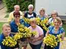 A SEA OF yellow has enveloped the Cancer Council Queensland Rockhampton office.